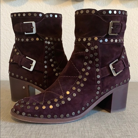 Laurence Dacade Gatsby Studded Suede